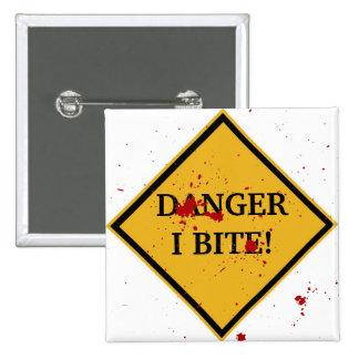 DANGER: I BITE! BUTTON