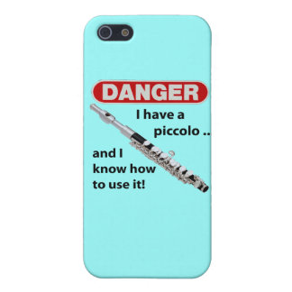 DANGER! I have a piccolo ... Cover For iPhone SE/5/5s