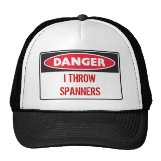 danger, I THROWSPANNERS Cap