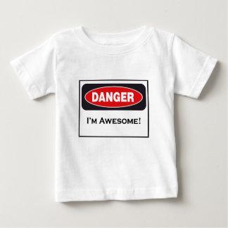 DANGER I'm awesome! Infant T-Shirt! Infant T-shirt