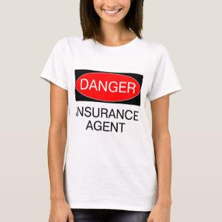 Danger - Insurance Agent Funny T-Shirt Mug Hat Bag