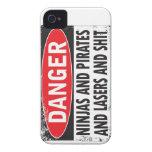 DANGER! iPhone4 Case Case-Mate iPhone 4 Case
