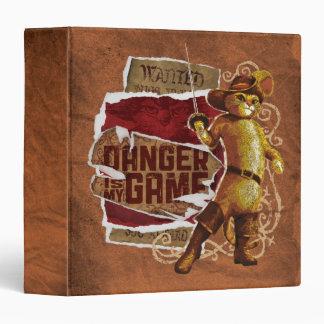 Danger Is My Game 2 3 Ring Binder