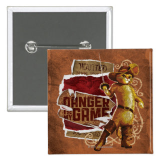 Danger Is My Game 2 Pinback Button