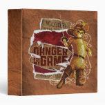 Danger Is My Game 2 Vinyl Binder