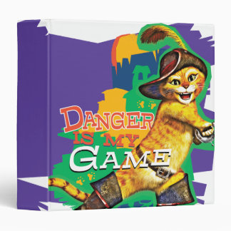 Danger Is My Game 3 Ring Binder