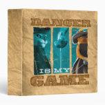 Danger Is My Game 3 Ring Binder