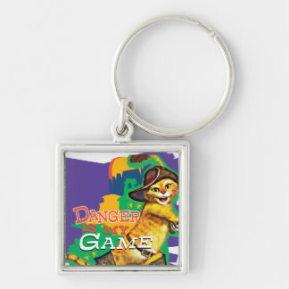 Danger Is My Game Keychain