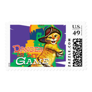 Danger Is My Game Postage
