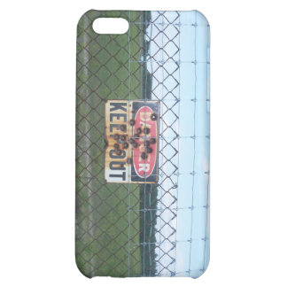 Danger Keep Out sign iPhone 5C Cover