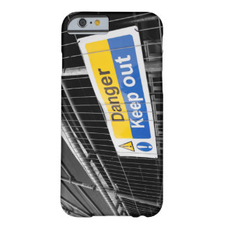 Danger Keep Out sign iPhone 6 case
