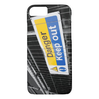 Danger Keep Out sign iPhone 7 Case