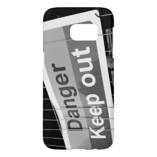 Danger Keep Out sign Samsung Galaxy S7 Case