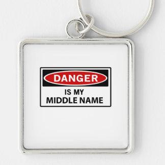 Danger Keychain
