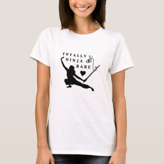 Danger Kitty Ninja Babe T-Shirt