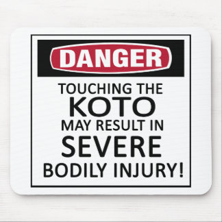 Danger Koto Mouse Pads
