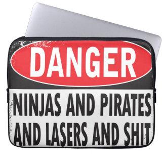 Danger! Laptop sleeve