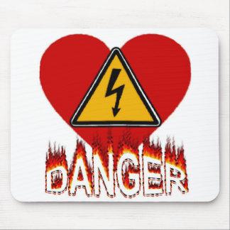 Danger Love Mousepad