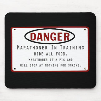 Danger Marathoner Mouse Pad