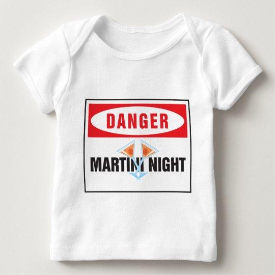 Danger martini night baby T-Shirt