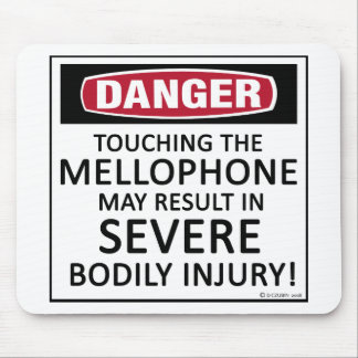 Danger Mellophone Mouse Pad