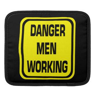 Danger Men Working iPad Sleeve