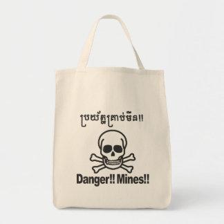 Danger!! Mines!! 2 Tote Bag