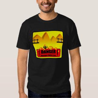 Danger Molten Lava - Dark T-Shirt