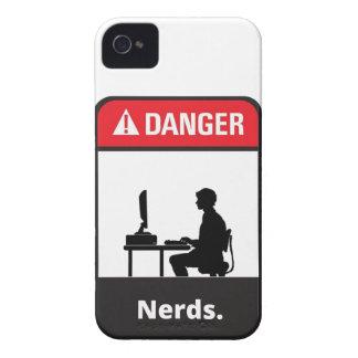 Danger Nerd Alert Case-Mate iPhone 4 Case