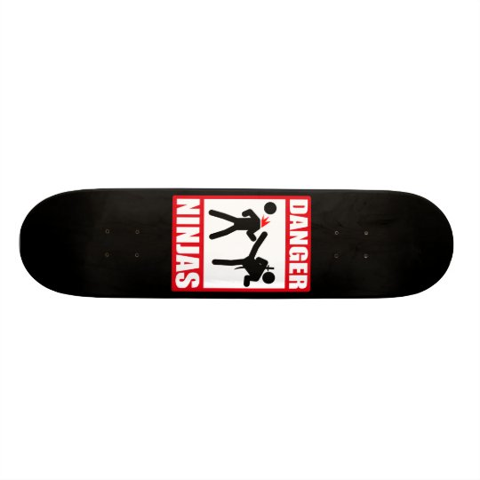 Danger Ninjas Skateboard Deck