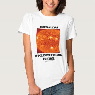 Danger! Nuclear Fusion Inside T Shirt