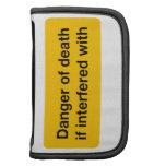 Danger of Death Folio Planners