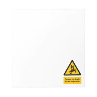 Danger of Death Notepad