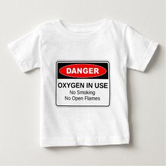 Danger Oxygen In Use Shirt