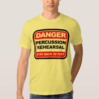 Danger Percussion Rehearsal T-shirt