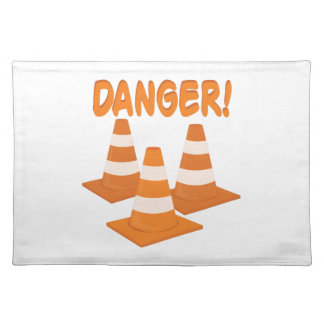 Danger Cloth Place Mat