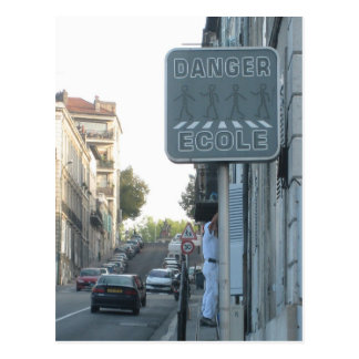 Danger! Postcard