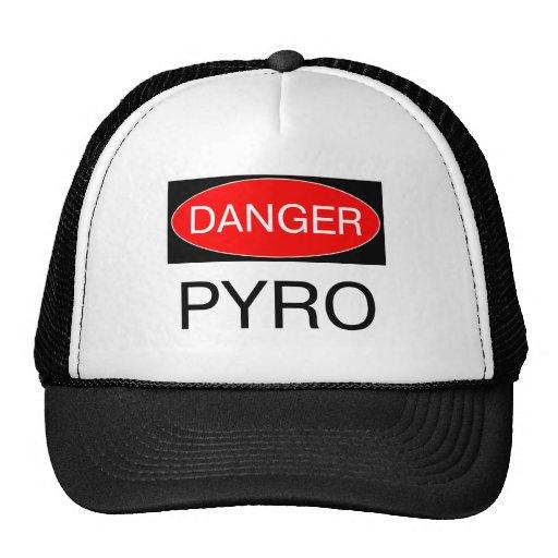Danger - Pyro Funny Pyrotechnician T-Shirt Mug Bag Trucker Hat