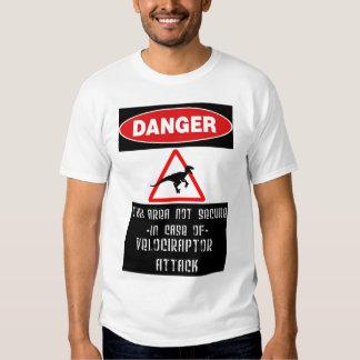 Danger: Raptors T Shirt