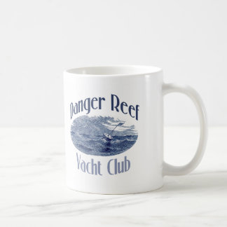 Danger Reef Yacht Club Deer Harbor Classic White Coffee Mug