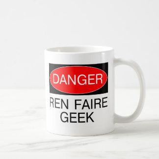Danger - Ren Faire Geek Renaissance Faire T-Shirt Classic White Coffee Mug
