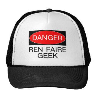 Danger - Ren Faire Geek Renaissance Faire T-Shirt Trucker Hat