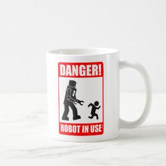 Danger Robot in Use Mug