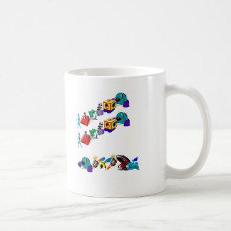 Danger! Robots! Coffee Mug