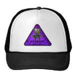 Danger! Robots Purple Mesh Hats