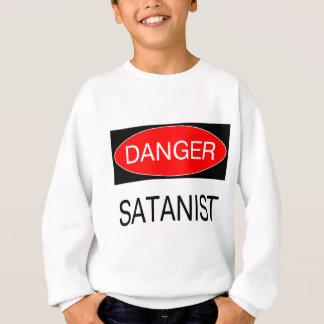 Danger - Satanist Funny T-Shirt Satan Mug Hat Bag