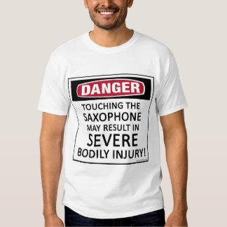 Danger Saxophone T-Shirt