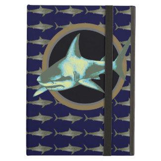 danger shark, caution iPad air covers