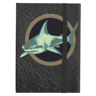 danger sharks, caution iPad air cases