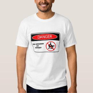 """""""DANGER: SHE SMASHED DA HOMIES"""" MEN'S T-SHIRT"""